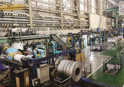 太钢集团钢冷轧链车间工程